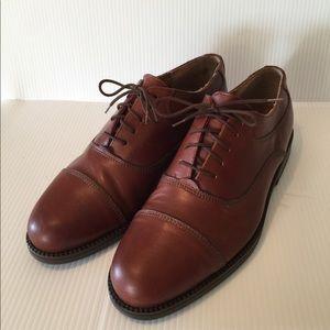 Men's Florsheim Brown Leather Dress Shoes sz 11D
